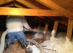 Keep your home Warm by having Insulation Plus, LLC install Blown Cellulose Insulation in  your Port Huron MI home today!